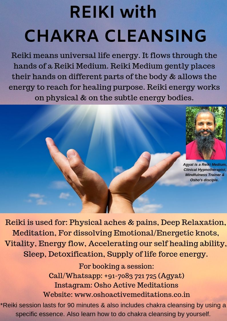 Reiki with Chakra Cleansing