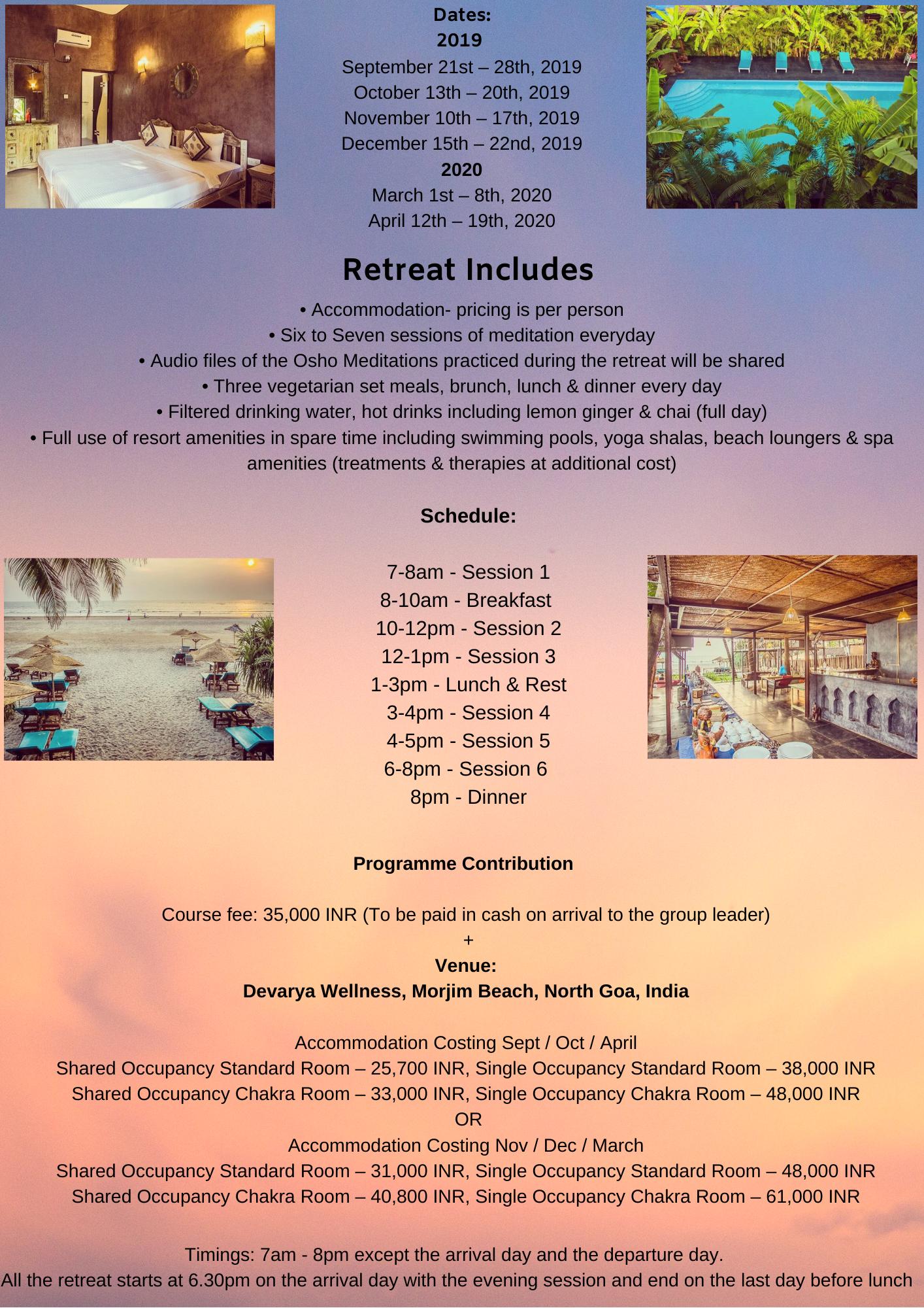 GR-Osho Meditation Intensive Retreat - 2