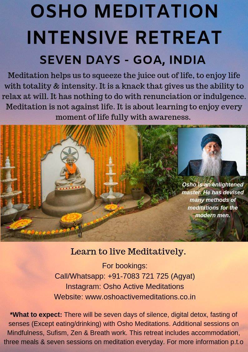 Osho Meditation Intensive Retreat
